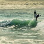 比亚里茨的冲浪者
