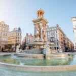 里昂的喷泉