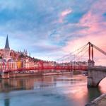 里昂的圣文森特行人天桥