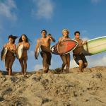 Programa de francés y surf